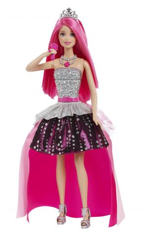 Experience the best of both worlds with Barbie® Rock N Royals Courtney™ Doll