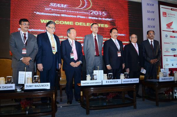 SIAM's 55th Annual Convention Brings Together Industry Leaders  Policy Makers to Discuss Way Forward for Auto Industry in India