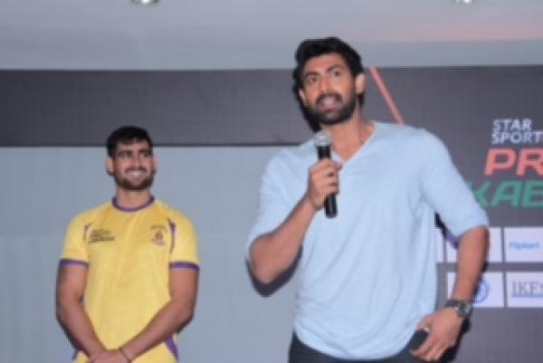Star Sports Pro Kabaddi signs actor Rana Daggubati  as its brand ambassador