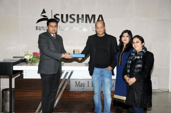Sushma Buildtech Begins Possession of Project Sushma Elite Cross in Zirakpur